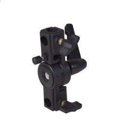 Bracket adaptor with umbrella holder