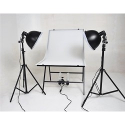 Small Photo Table Package with under table lamp