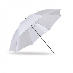 90cm White / Transluscent Umbrella