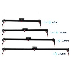 120cm Professional DSLR Video Camera Slider and carry bag