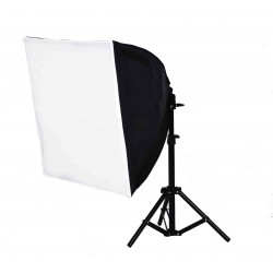 Quick Softbox 50 x 50cm with 85W bulb and small stand