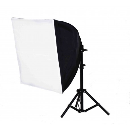 Quick Softbox 50 x 50cm with 125W bulb and small stand
