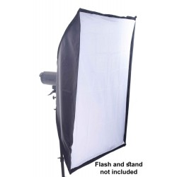 Quick open collapsible Softbox 70cm x 100cm with Bowens  speed ring