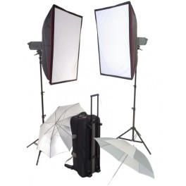 2 x Visico 600W VC Pro series Studio Lighting Kit for studio lighting
