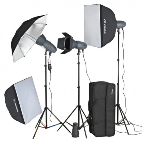 3 x Visico 400W VT Studio Lighting Kit