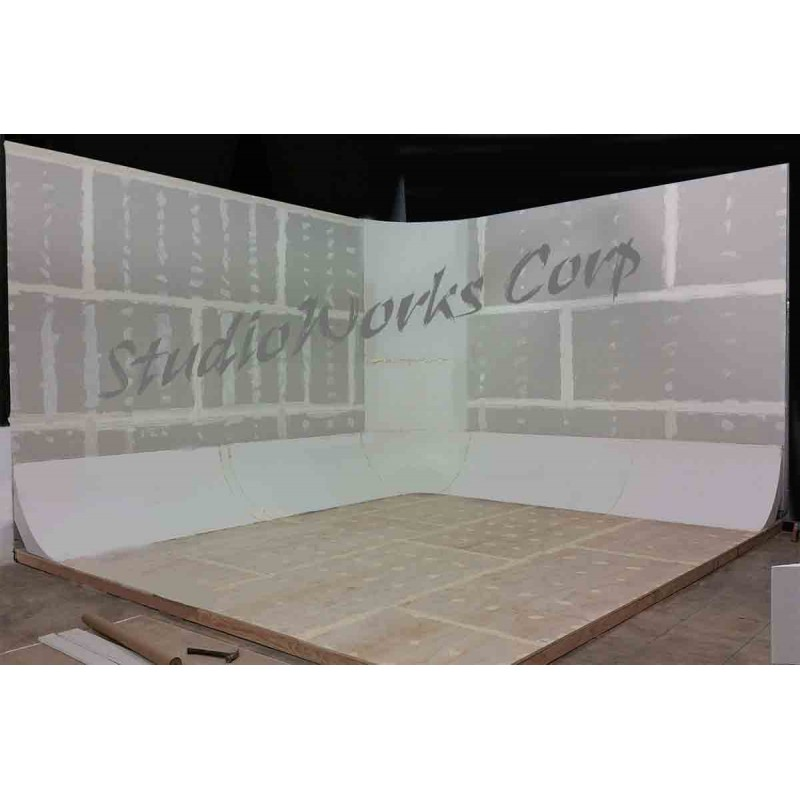Corner For Cyclorama Wall