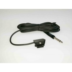 Camera hotshoe  cable trigger adaptor with 3.5mm jack