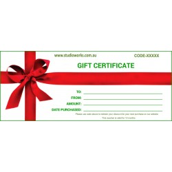 GiftCard eCertificate $10.00