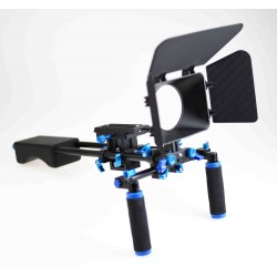 DSLR camcorder Camera Cage Camera rig Shoulder Mount Kit
