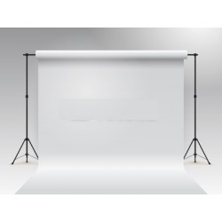 white paper roll backdrop 2.72m x 11m