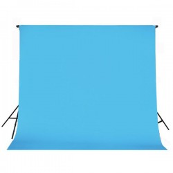 Light blue paper roll backdrop 2.72m x 11m