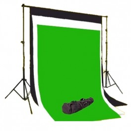 Backdrop stand & one plain colour backdrop